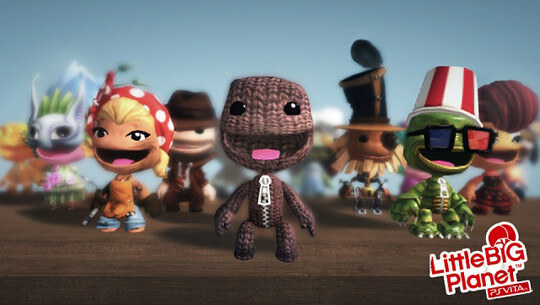 Little Big Planet - PS Vita LBPVita1