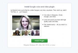 Ähm ja - ich und Google+ hangouts