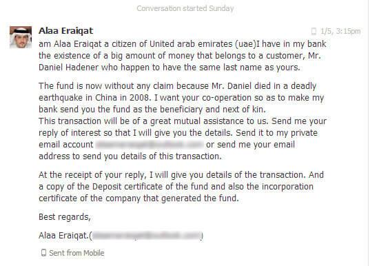 scam  Wie funktioniert das eigentlich mit dem Scam? scam