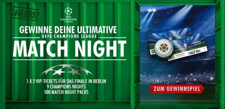 """Championsnight oder """"Wie ich mich mal einen Abend für Fußball interessiert hab"""""""