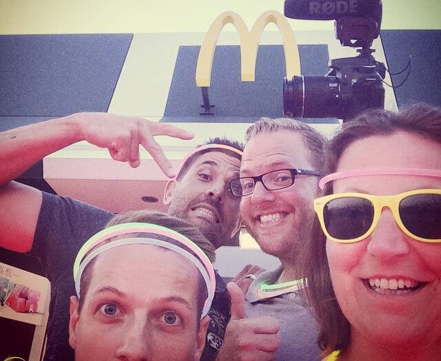mcd McDonalds Videoblog: 7 Tage Tour mcd