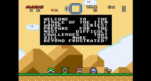 Na sehr super, Mario